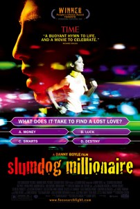 slumdog millionaire poster full 202x300 21 Inspirational Entrepreneur Movies (UPDATED for 2015)