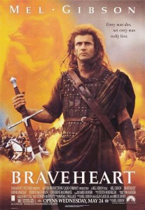 braveheart 207x300 21 Inspirational Movies For Young Entrepreneurs